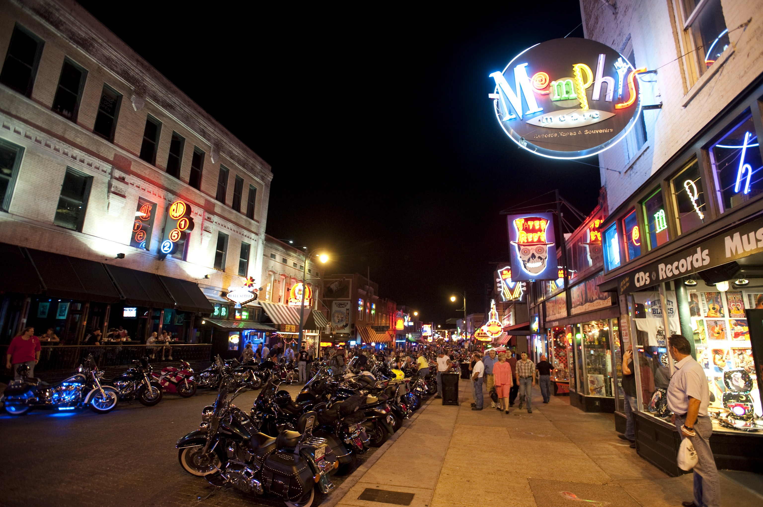 B.B. King Memphis Beale Street