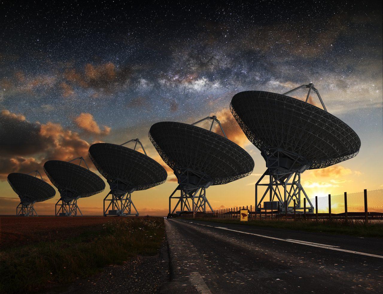 Viaggio astronomico california radiotelescopi