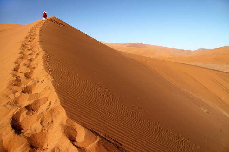 vacanza Namibia deserto dune