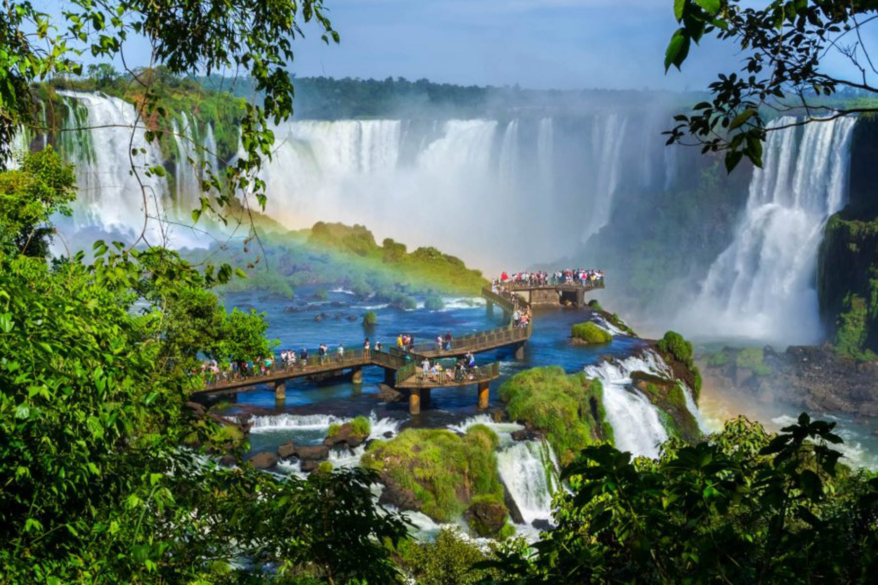 Iguazu - Argentina e Brasile