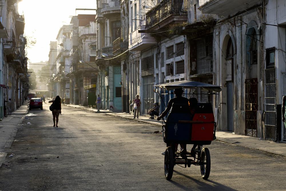 Una via de La Habana Vieja.