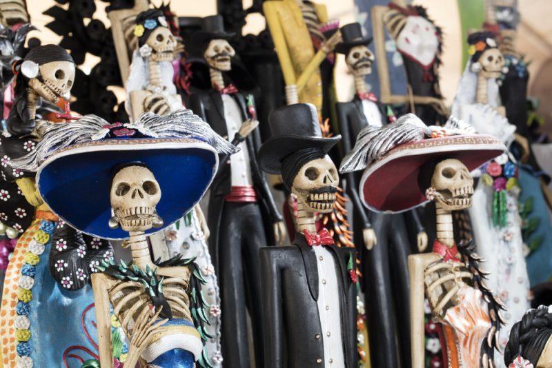 Le grottesche decorazioni per il Dia de Muertos
