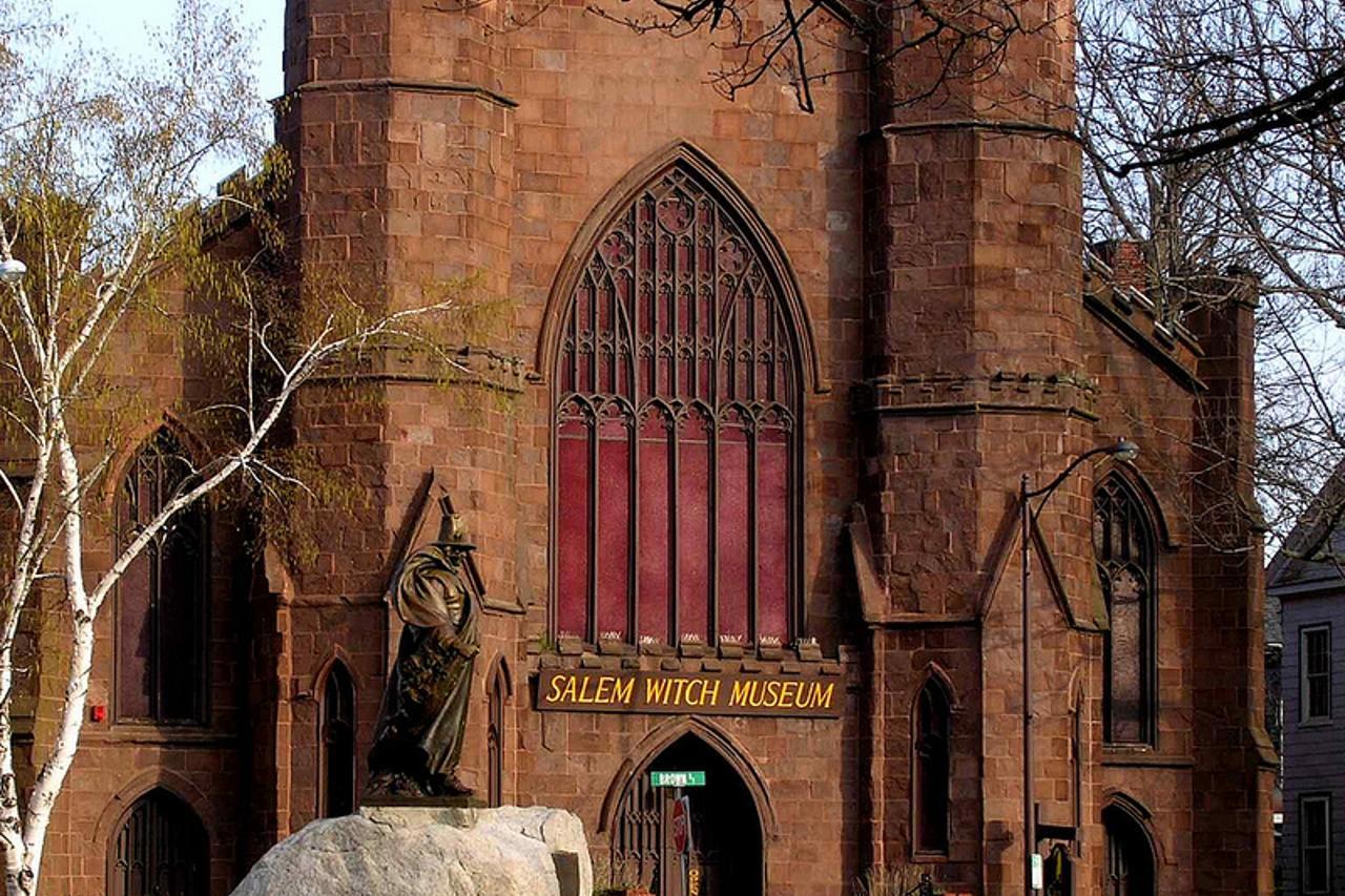 Il museo delle streghe di Salem.