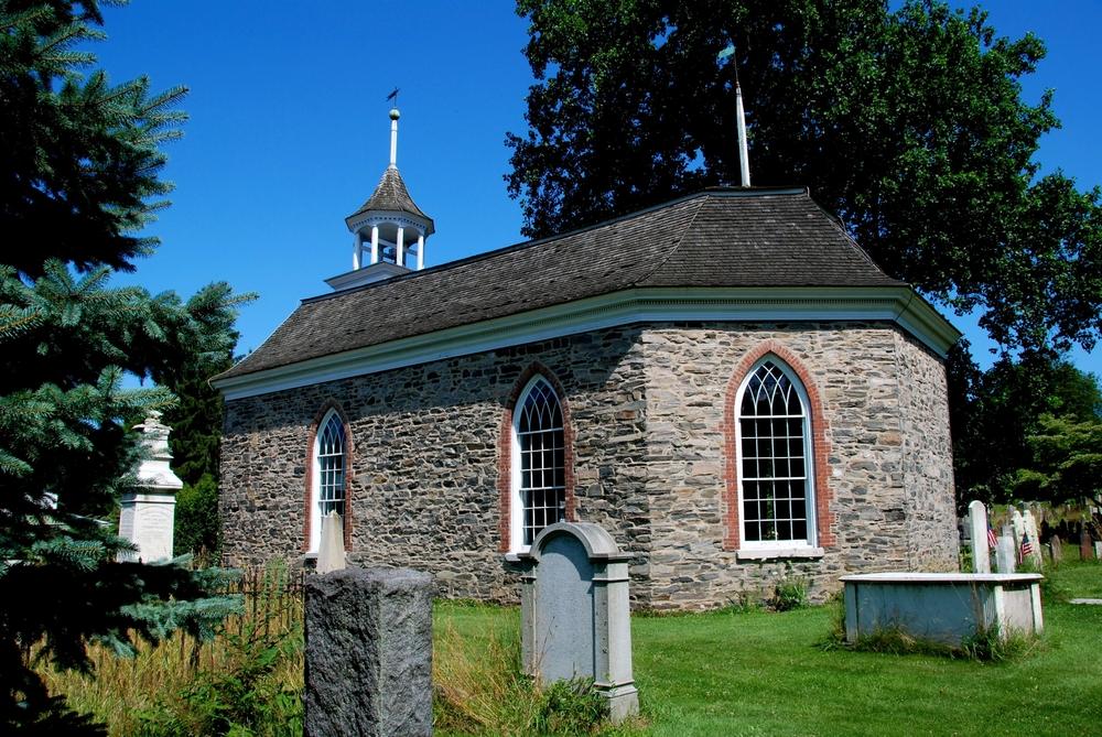 Uno dei cimiteri di Sleepy Hollow... perfetto da visitare durante la festa di Halloween