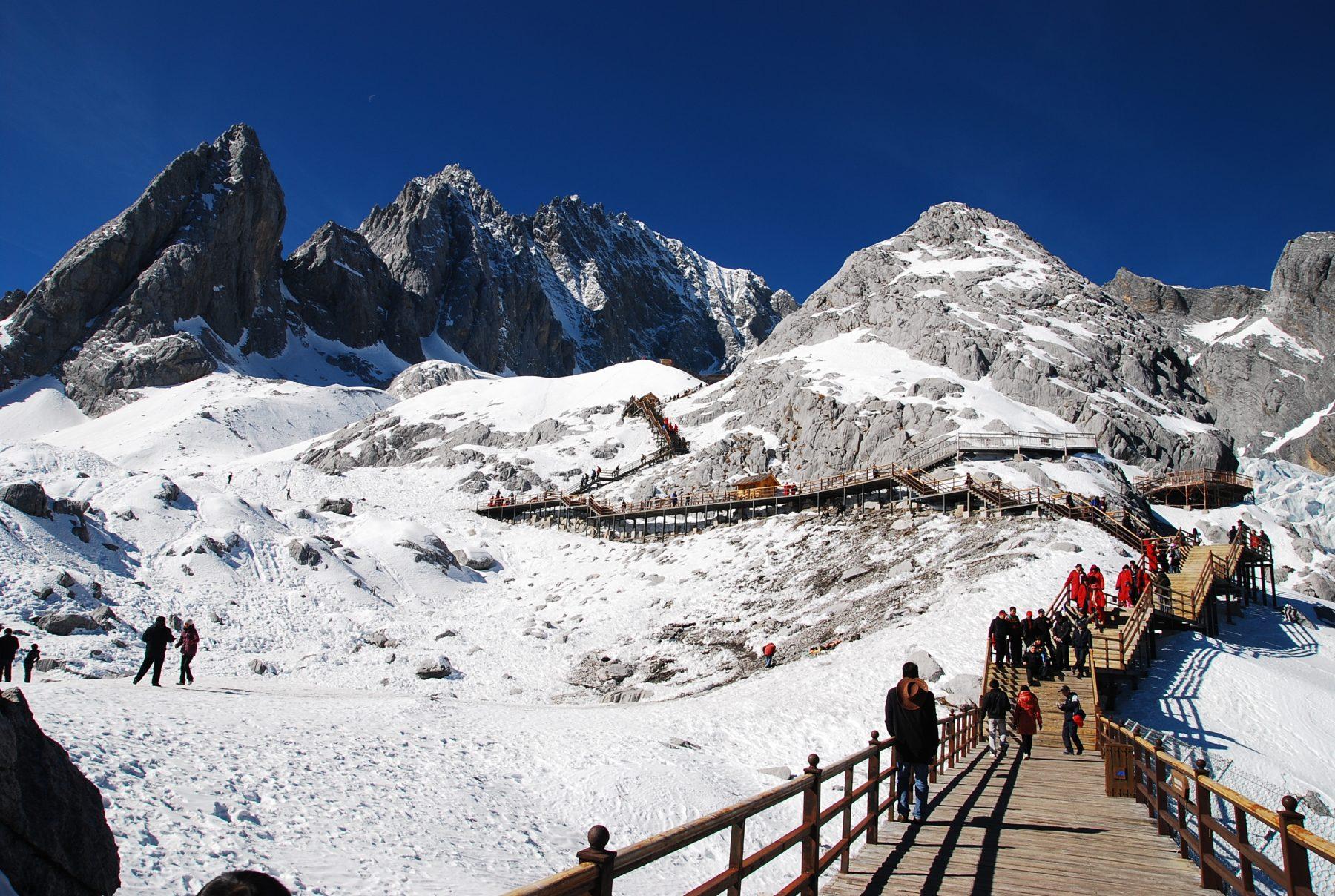 Il Monte Drago di Giada, Yunnan