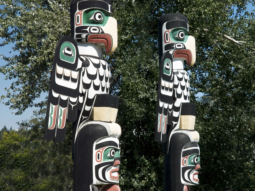 Vancouver Island First Nations Totem