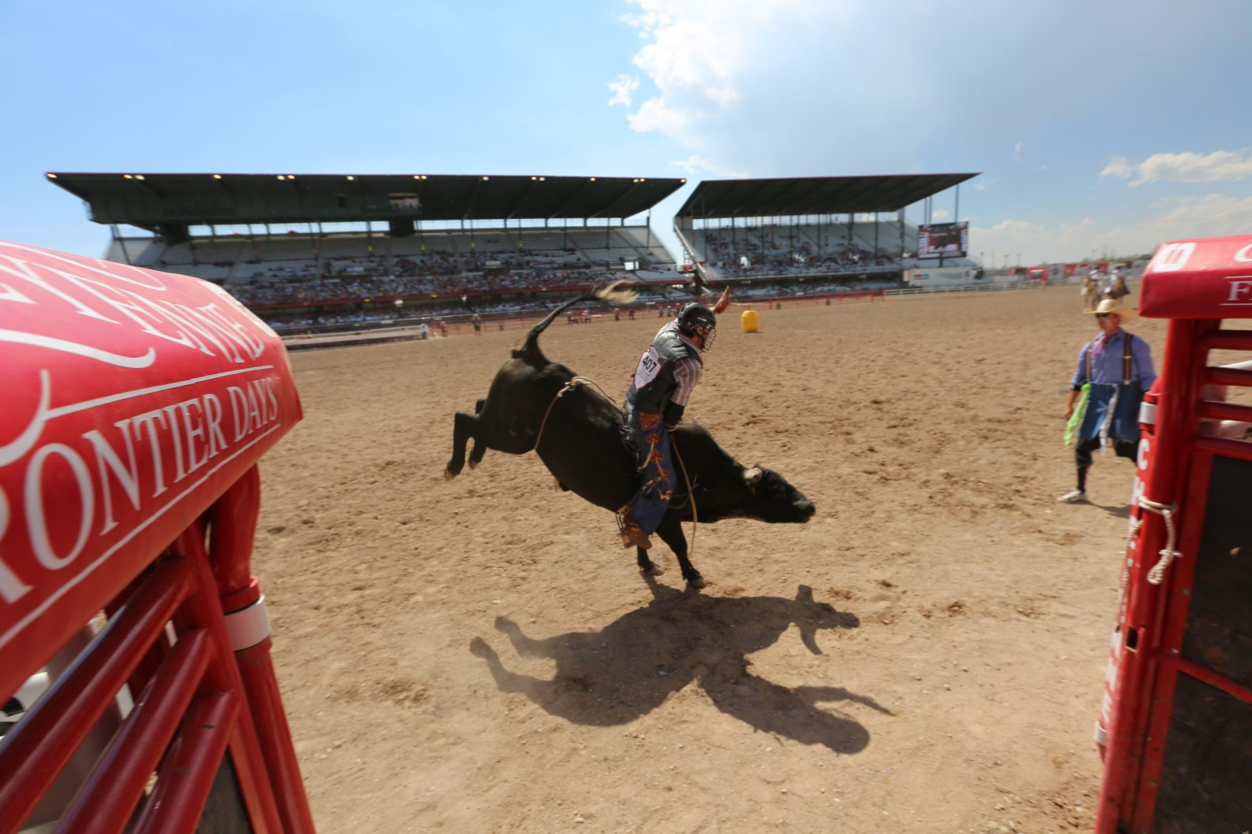 Il rodeo Frontier Days di Cheyenne, Wyoming