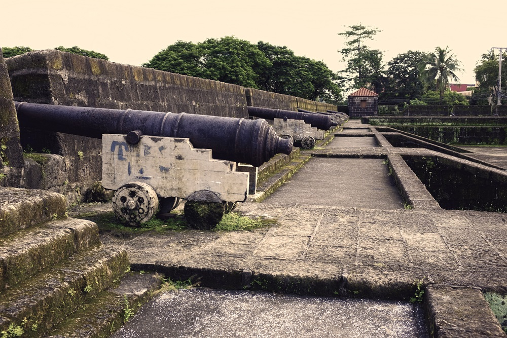 I bastioni del Forte Santiago, Manila, Filippine