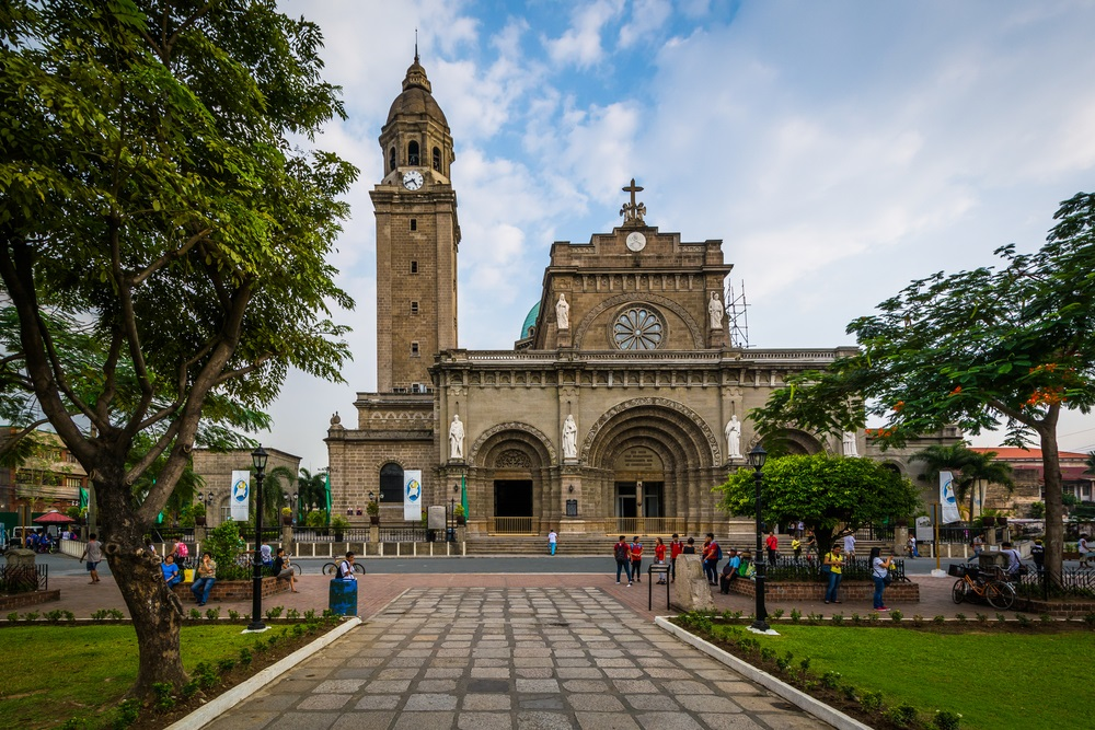 La Cattedrale di Manila, Filippine