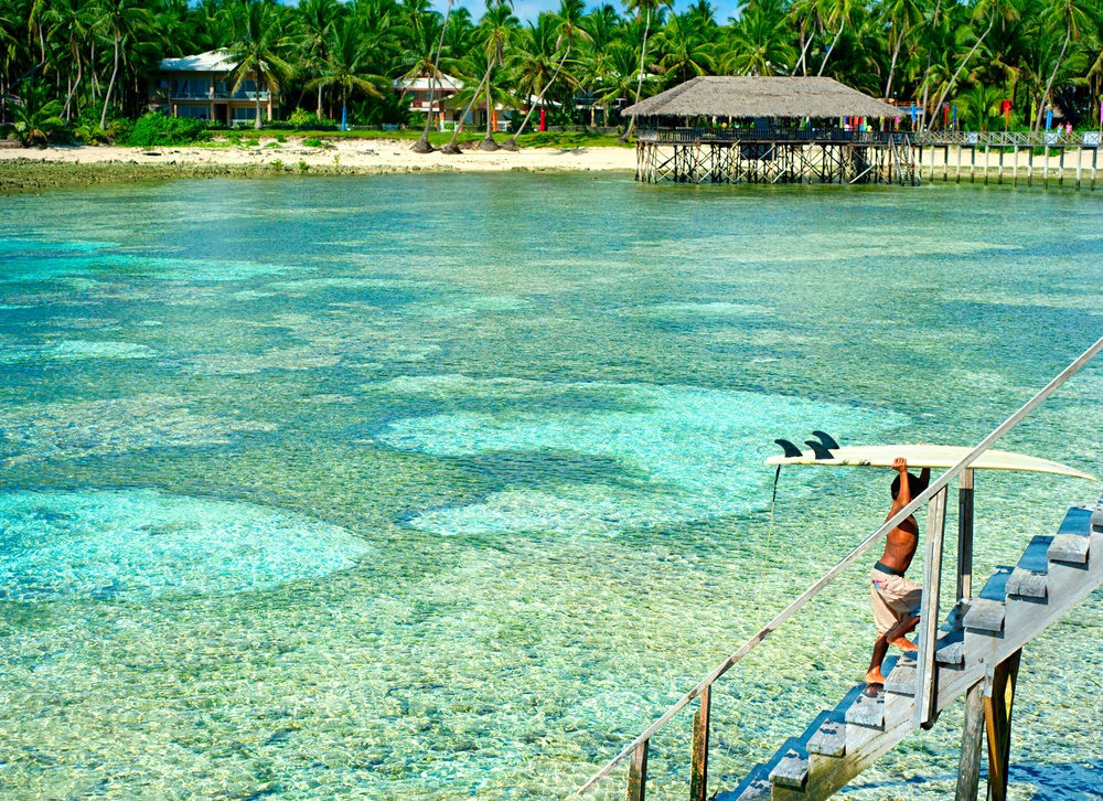 Siargao, Filippine, è uno dei paradisi mondiali del Surf