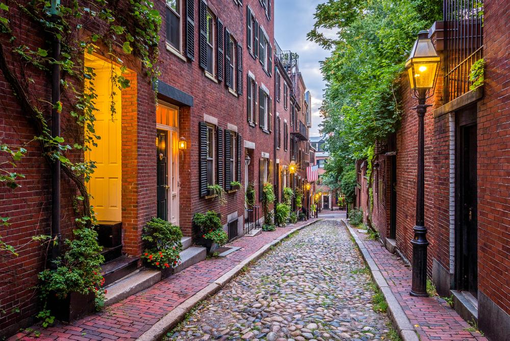 New England Literary Tour Boston Beacon Hill
