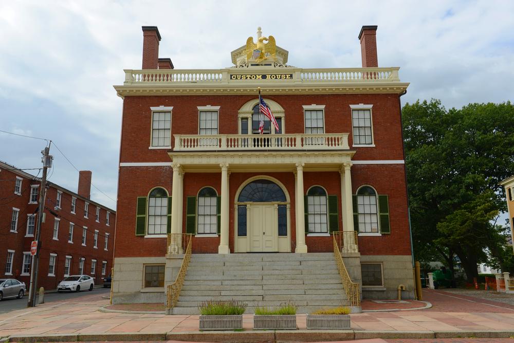 New England Literary Tour Salem Dogana