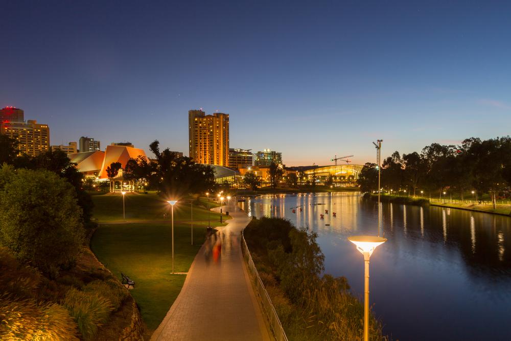 Un'altra veduta di Adelaide, South Australia