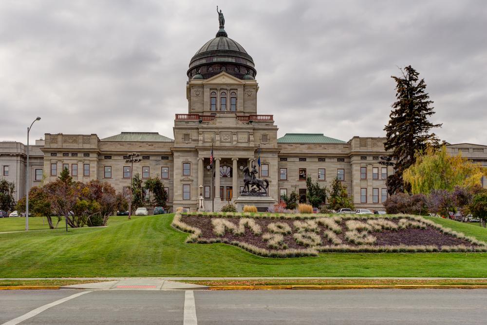viaggio in Montana Helena Capitol