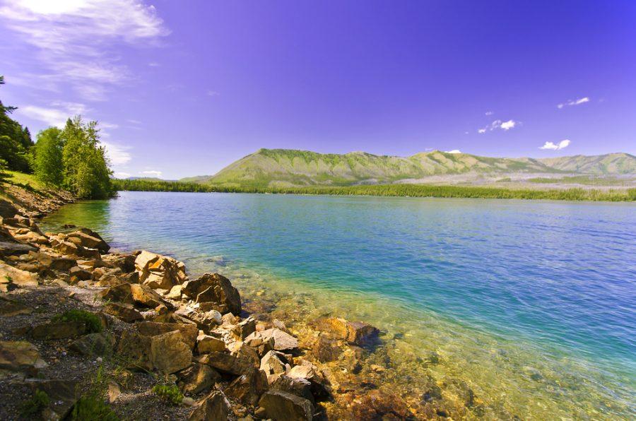 viaggi in Montana Lago Flathead