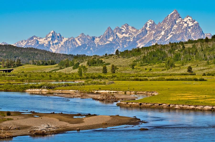 Wyoming Grand Teton National PArk film western