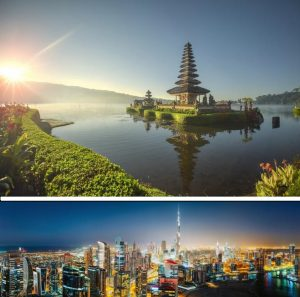 Bali + Dubai