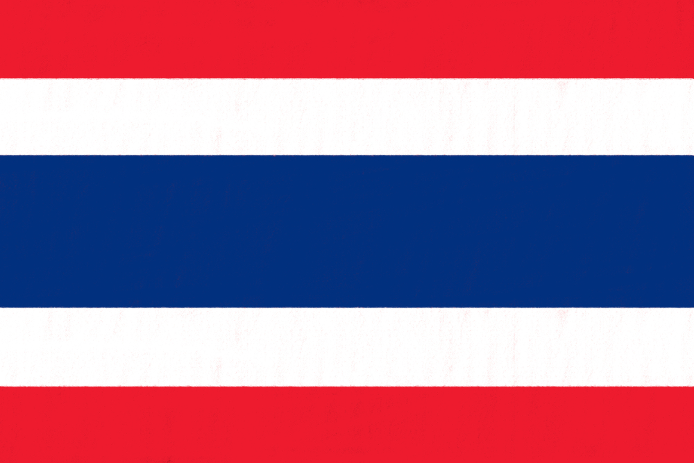viaggio in Thailandia bandiera