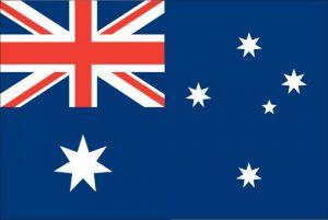 Viaggio in australia bandiera