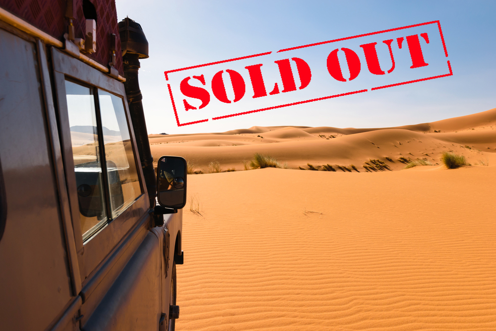 Namibia sold out