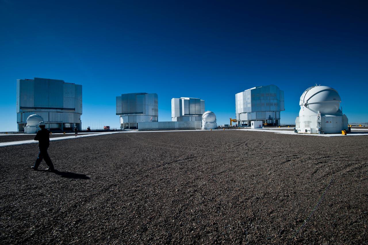 osservatori astronomici del Cile Very Large Telescope