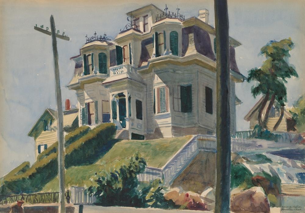 i luoghi di Edward Hopper House