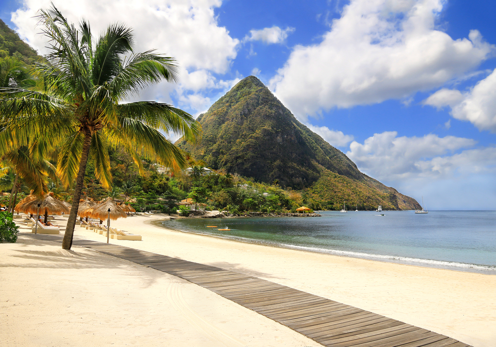 Santa Lucia viaggio Caraibi