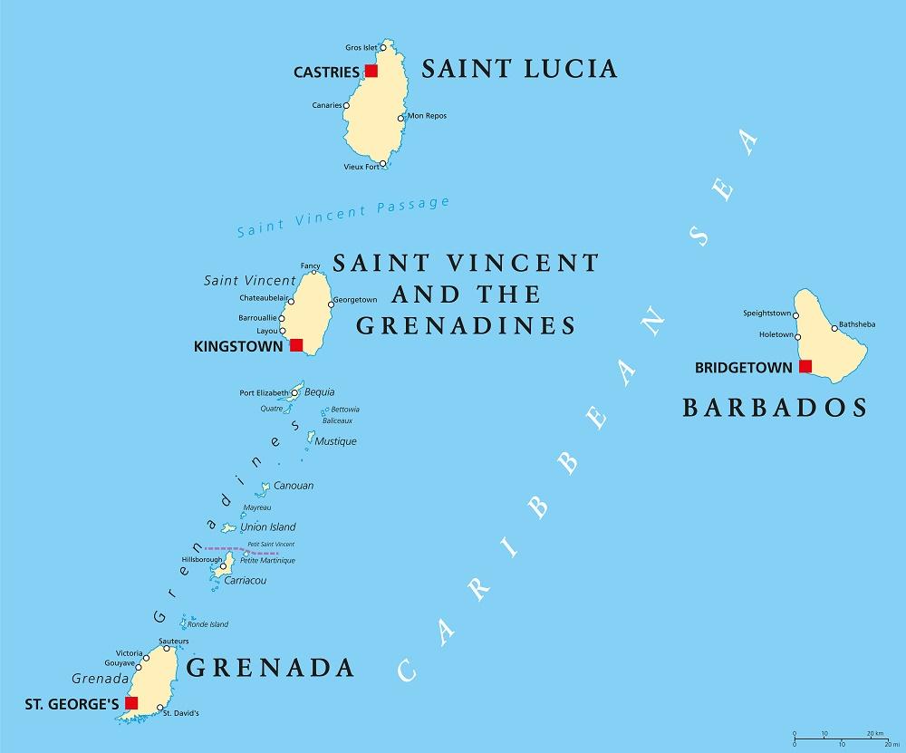 Santa Lucia mappa