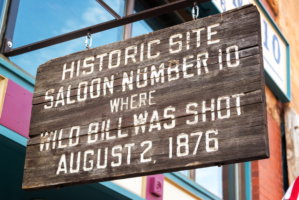 Viaggio nella Real America Deadwood South Dakota