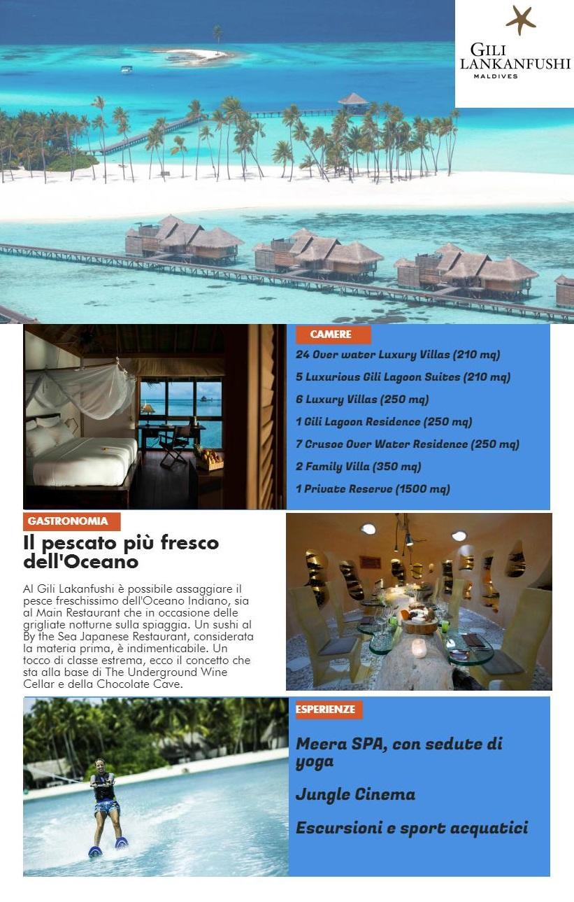 Ecoturismo e Relax alle Maldive Gili Lankanfushi Locandina