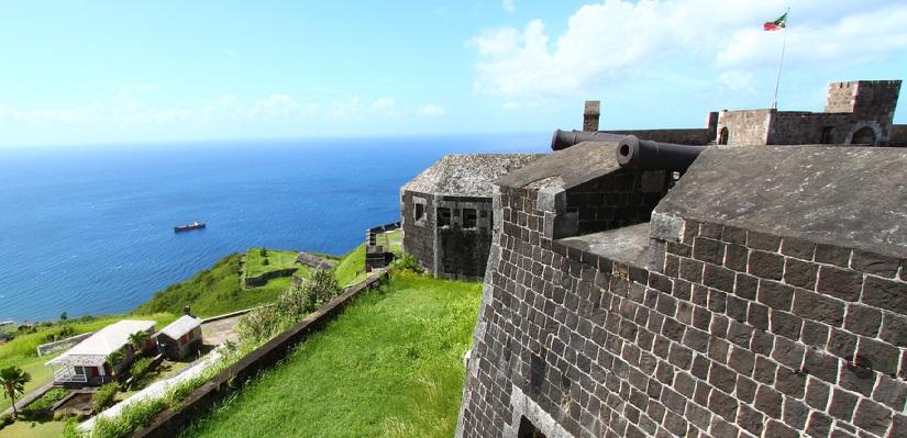 Saint Kitts e Nevis Brimstone Hill Fortress National Park UNESCO