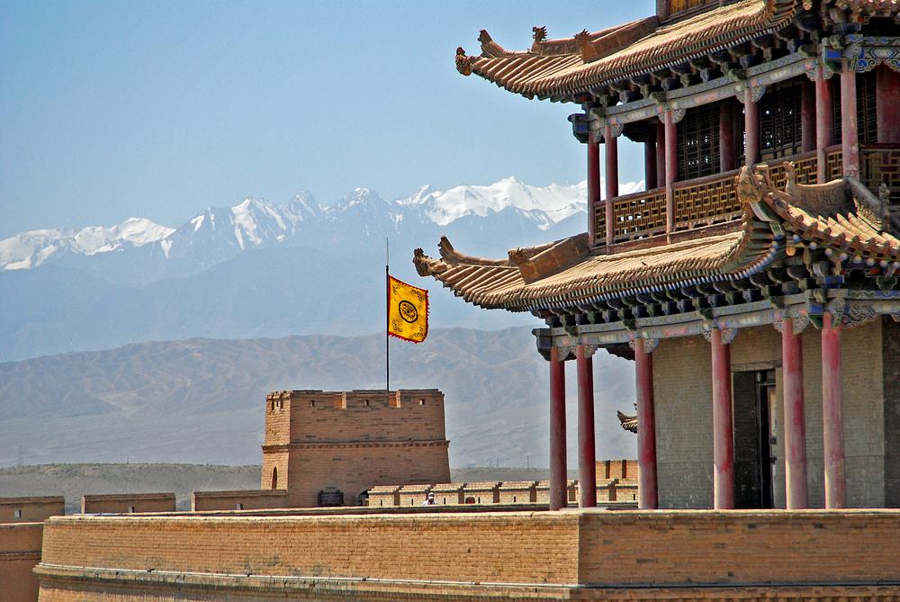Viaggio in Gansu Jiayuguan