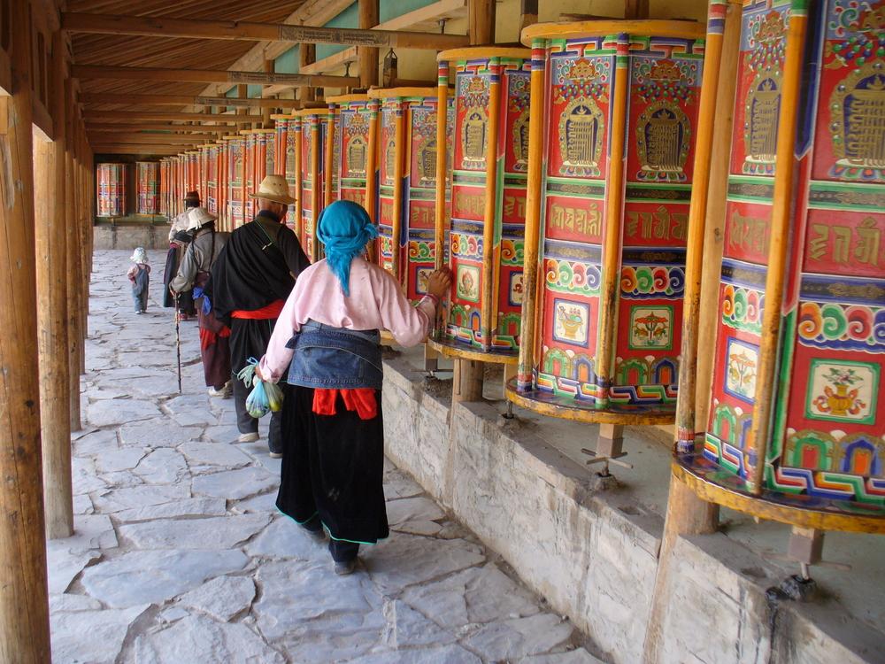 Viaggio in Gansu monastero Labrang
