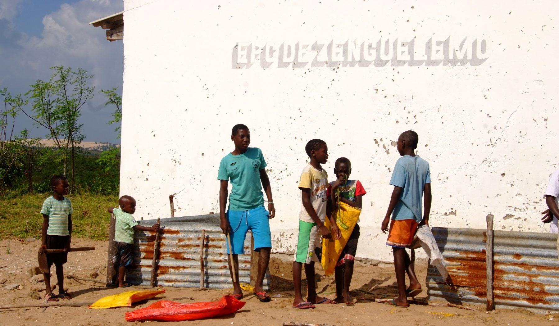 Mare in Mozambico Bazaruto Scuola
