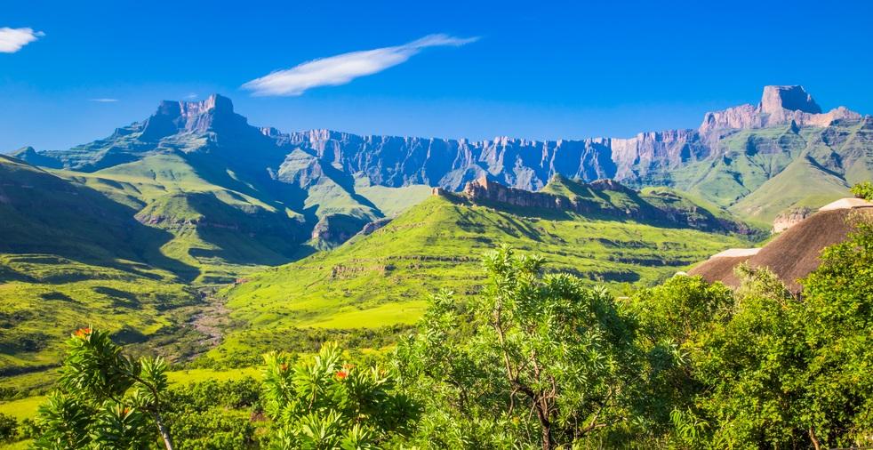 Patrimoni UNESCO del Sudafrica Maloti-Drakensberg Park