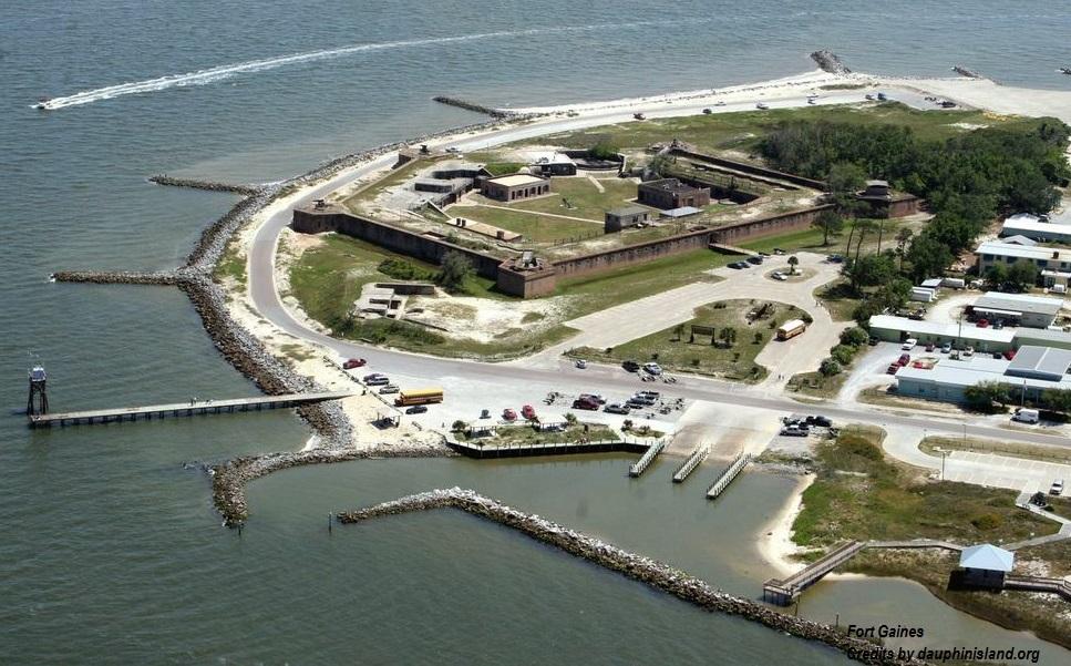 Fortezze americane sul Golfo del Messico Fort Gaines