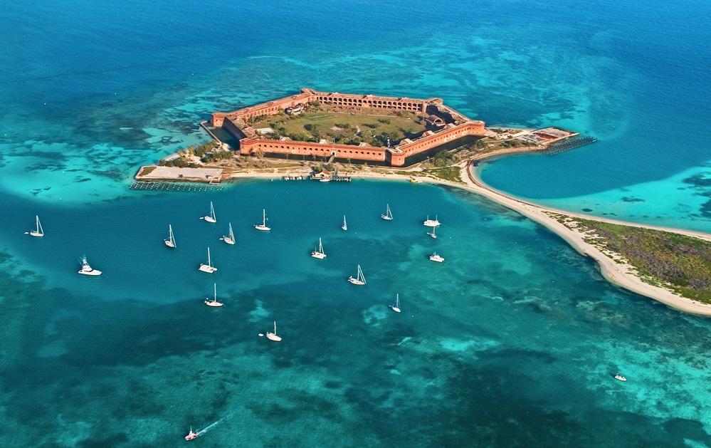 Fortezze americane sul Golfo del Messico Fort Jefferson
