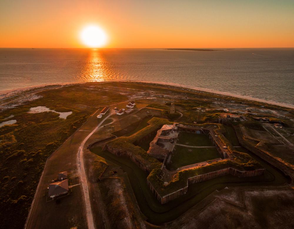 Fortezze americane sul Golfo del Messico Fort Morgan