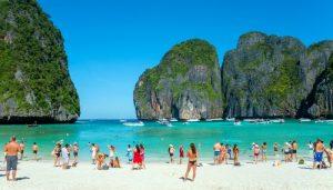 Le 10 migliori spiagge della Thailandia Maya Bay