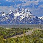Viaggio nella Real America Grand Teton Wyoming