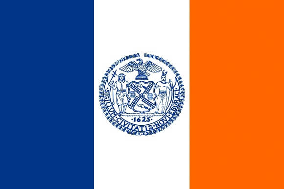 Viaggio a New York Bandiera