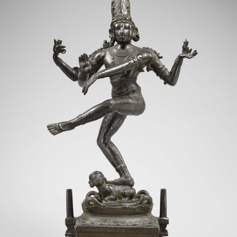 Shiva danzante indiano, X° sec. d.C., Louvre di Abu Dhabi