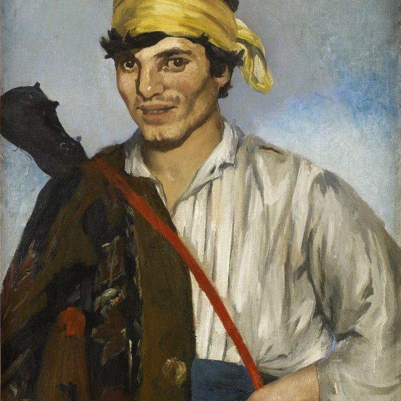 Edouard Manet, Il Gitano, 1867 Louvre di Abu Dhabi