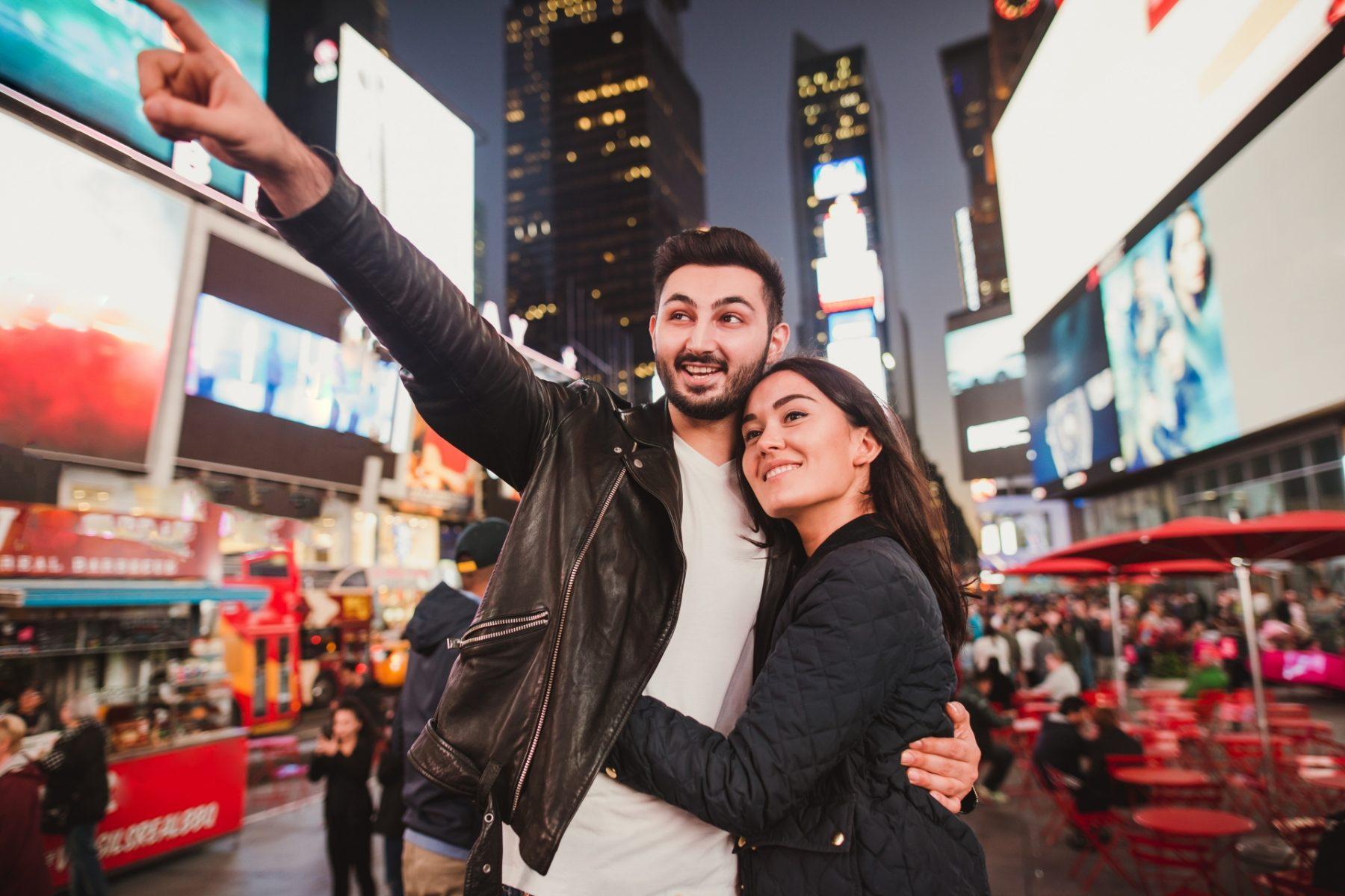 Cosa fare a New York a San Valentino Love in Times Square