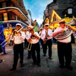 Viaggio nel South USA New Orleans - Parade in the French Quarter