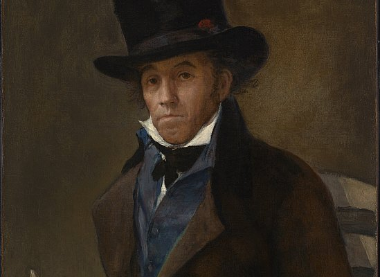 Francisco de Goya, Ritratto di Asensio Julià, 1814. Olio su tela, 73 x 57.8 cm. © The Clark Art Institute.