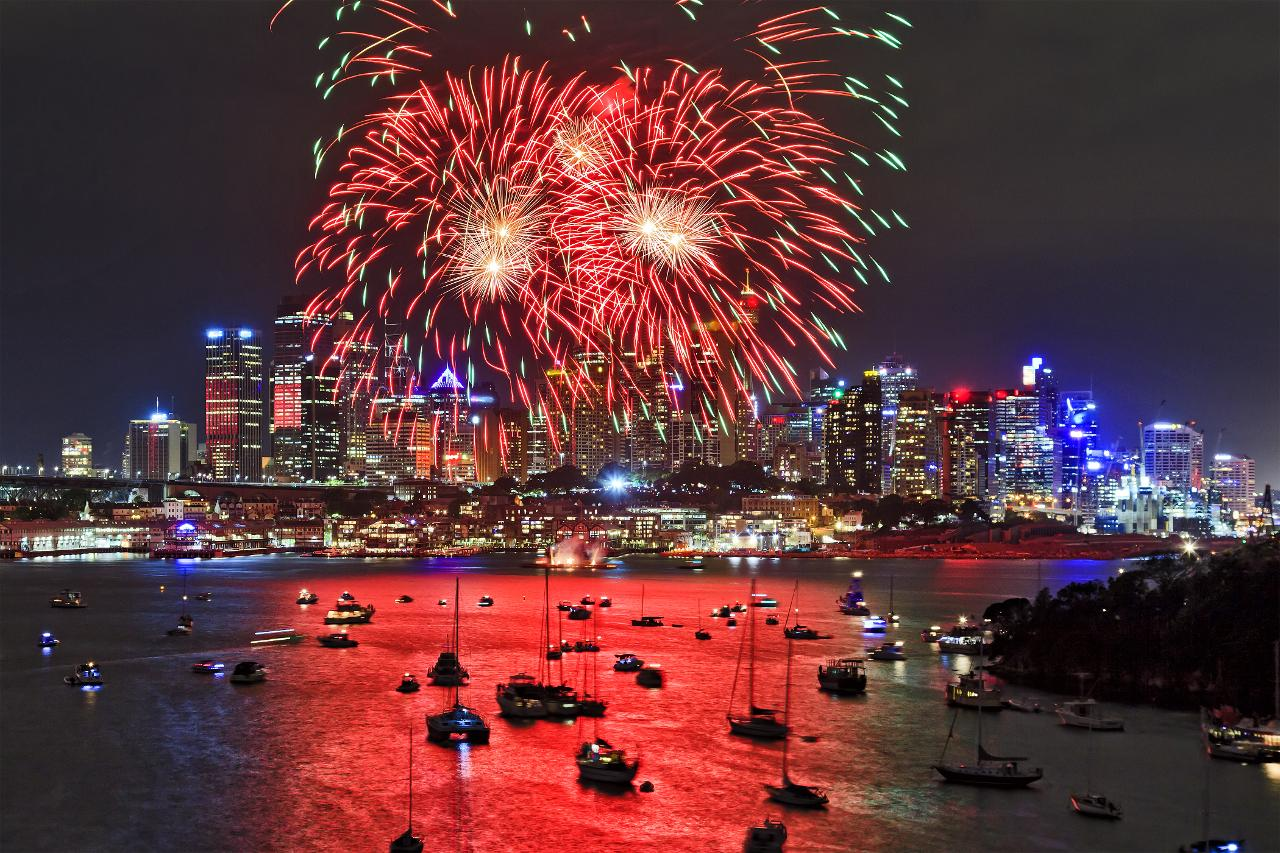 Capodanno a Sydney Capodanno nel mondo