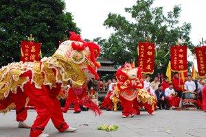 Capodanno nel mondo Capodanno Cinese danza del leone
