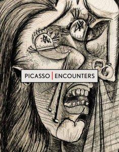 Locandina della mostra su Picasso del giugno-agosto 2017. © The Clark Art Institute