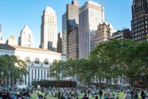 Cosa fare a New York in Primavera Briant Park